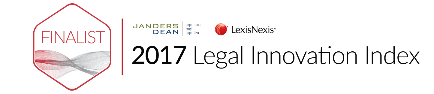 Finalist im Legal Innovation Index 2017